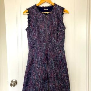Marcs multi-coloured dress with full zip front